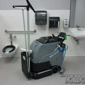 医院用洗地机-噪音小洗地机-洗地机的型号-威卓环境工程