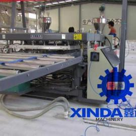 建筑模板生产线设备厂家直销|PVC塑料广告版装饰板机械