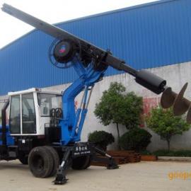 轮式旋挖钻机