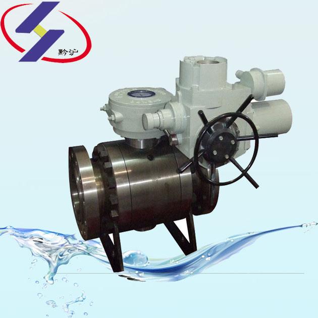硬密封固定式电动球阀,Q947H(Y)固定式电动球阀
