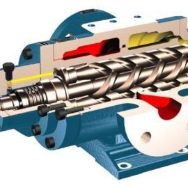 船用柴油机润滑泵 低压油泵 循环泵 三螺杆油泵SNH40R38E6.7W0