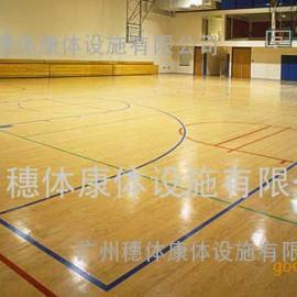 篮球场运动木地板,篮球场木地板,篮球场专用地板,运动木地板
