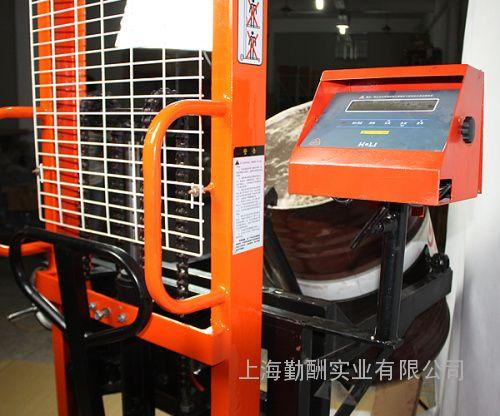 防爆油桶秤手动液压油桶搬运车设计新颖