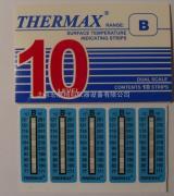 机车轴温指示贴规格:十级,77-127度