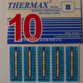 宏展精科销售英国温度美THERMAX 热敏试纸 温度纸 测温纸10格B 77