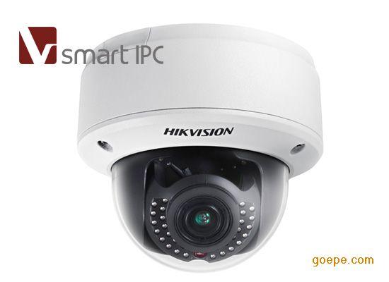 DS-2CD4112F-IZ海康140万红外半球网络摄像机