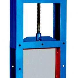 方形手动插板门|电动插板阀-双向或者单向型号齐全