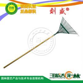 正品/22齿草耙/刘盛/草坪耙/草耙子/枯叶耙/园林耙