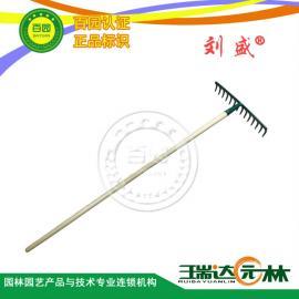 正品/钉耙/台湾刘盛/R-14/14齿/园艺工具