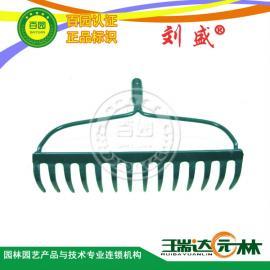 正品/14齿钉耙刘盛/R14A/加强型草坪耙草耙子枯叶耙