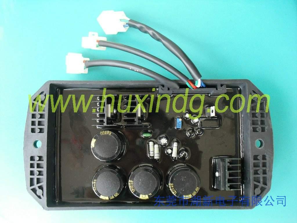 8.5-15KW单相三相发电机AVR电压调节器