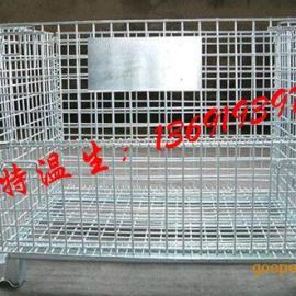 中山折叠仓库笼,火炬仓库铁笼,三乡工业专用铁笼规格