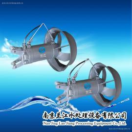 全不锈钢潜水推流器曝气器进口电机