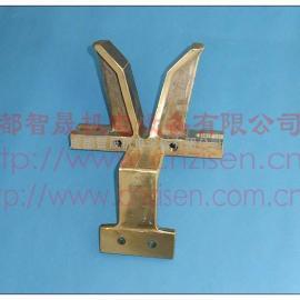 宏德电镀线铜V座 V型座 导电座 飞靶头