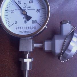 WTYY-远传双金属温度计万向型双金属温度计