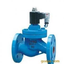ZCZP铸钢高温蒸汽法兰电磁阀导热油蒸汽管道中温电磁阀