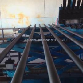 最先进钢管内壁喷丸机生产厂家哪家最便宜?找青岛鑫霖烨塬机械