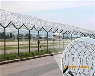 宁波飞机场护栏.