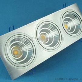 COB天花灯三头,COB筒灯,COB防雾天花灯,COB天花灯系列