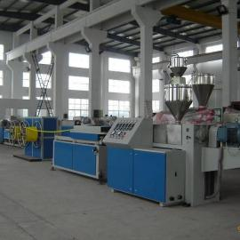 PVC/PE/PP单壁波纹管生产线,单壁波纹管设备