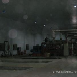 发电机房尾气噪声治理工程,绿深环境