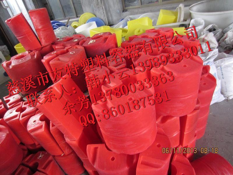 新品供应PE浮球 直径400高度420圆柱形浮球