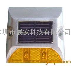 单面太阳能道钉,铸铝太阳能道钉,太阳能道钉灯