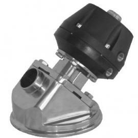 气动罐底隔膜阀不锈钢材质卡箍连接