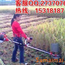 《热销》二冲程小型收割机-单缸收割机-小麦收割机-农作物收割机Z