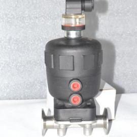 DN15气动卫生级卡箍隔膜阀