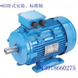 铝壳电动机 铝壳三相异步电动机