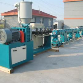 PE塑料管材设备价格※PE管材生产线厂家※PE管挤出机