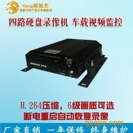 LA038-B四路高清车载硬盘录像机 天津摄像机