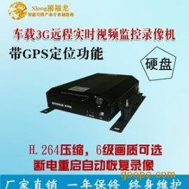 LA038-F四路3G无线多功能硬盘车载录像机 公交车监控