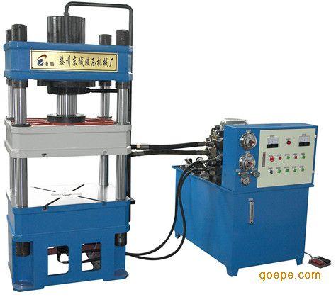 100t压力机,四柱液压机图片