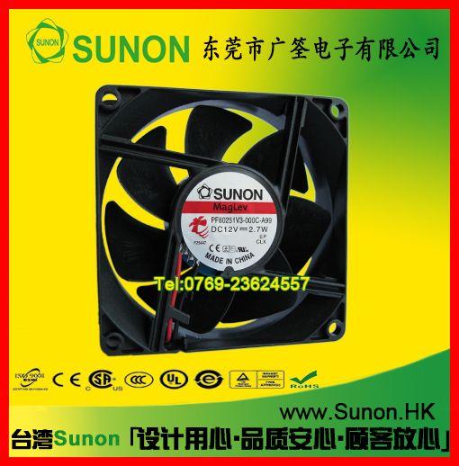 台湾80*80SUNON原装风机