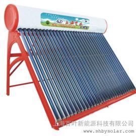 斜屋面太阳能热水器安装