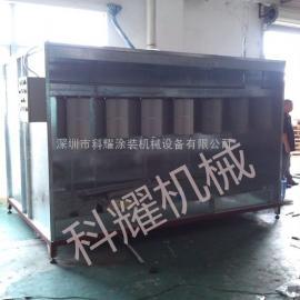 龙岗科耀公司热销产品 简易喷粉柜 手动静电喷粉房 可定制