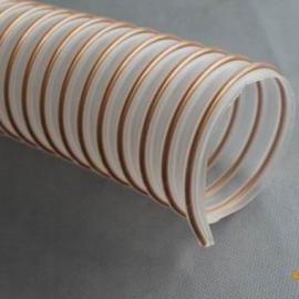Pu钢丝软管,Pu钢丝伸缩管,PU耐磨钢丝软管,pu管