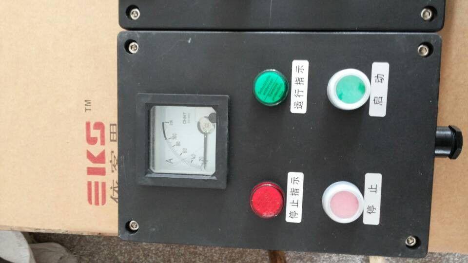 依客思   备煤工段 防水防尘防腐操作柱 fec56-a2k1l 立式二钮一开关