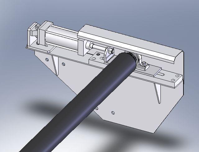 菲泰滤布纠偏装置(气缸纠偏)
