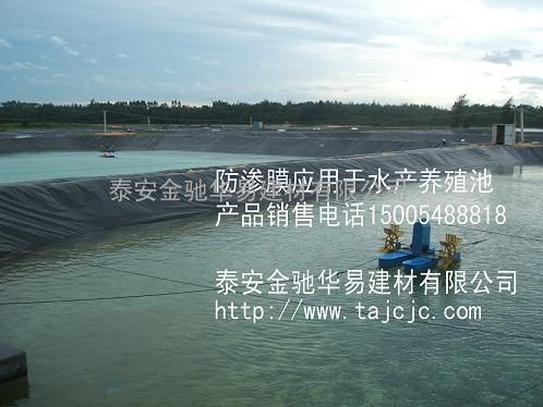 0.5mm厚鱼塘防渗膜