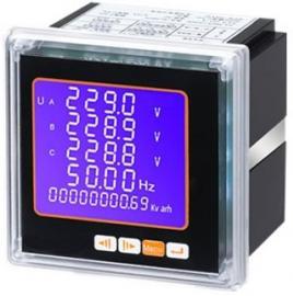 多功能电力仪表 96*96方形 数码管显示 可编程