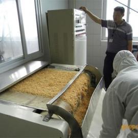 广州五谷杂粮微波烘烤熟化机