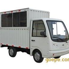 厂家直销 中高档电动四轮货车 厢式四轮货运车 货柜电动货车