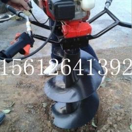 新款大功率地钻汽油挖坑机单双人打洞机植树机地钻