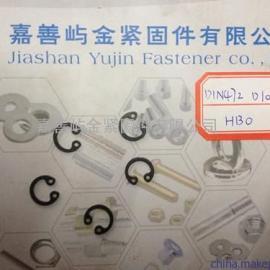 DIN472孔用弹性挡圈卡簧规格D10*1.0