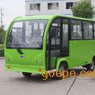 湖南厂家直销 13座封闭式电动旅游观光车 四轮电瓶代步观光车