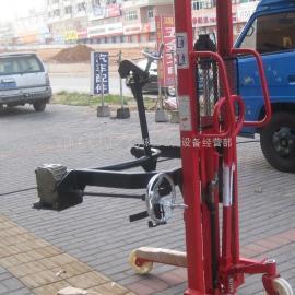 手动油桶装卸车,电升手翻油桶倒料车