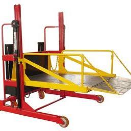 流动式液压登车桥,移动式装卸升降平台